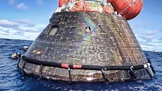 U.S. Navy Recovers NASA Orion Space Capsule • EFT-1