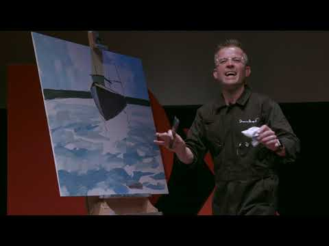 Using speed painting to create positive waves in the community | Shane Record | TEDxFolkestone