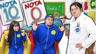 O MENINO QUE NÃO GOSTAVA DE ESTUDAR (NOTA ZERO) - Escolinha do Luccas Neto