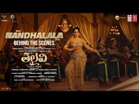 Making of Nandhalala song for Thalaivii ft. Kangana Ranaut, Arvind Swamy
