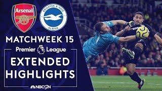 Arsenal v. Brighton | PREMIER LEAGUE HIGHLIGHTS | 12/05/19 | NBC Sports