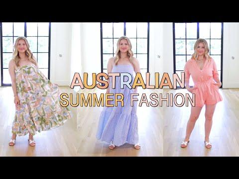 AUSTRALIAN Summer Fashion Try On!