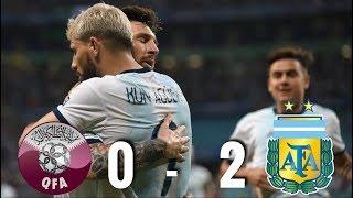 Qatar vs Argentina [0-2], Copa America 2019 - MATCH REVIEW