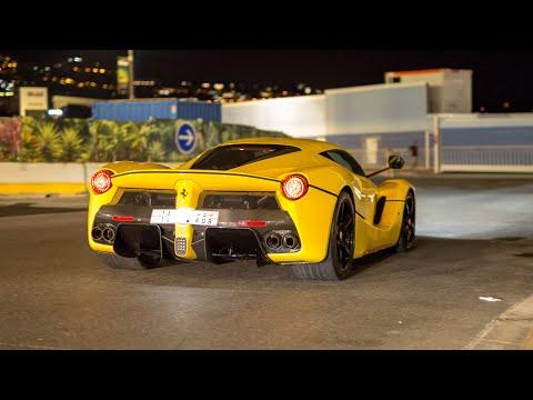 The EPIC Monaco Supercar Nightlife 2019 #17 (LaFerrari, Agera R, 3x Chiron, N-Largo 812, 918 Spyder)