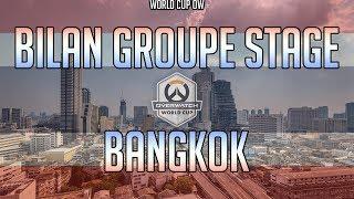 Bilan World Cup Overwatch 2018 - Groupe Thailande - En 4 min