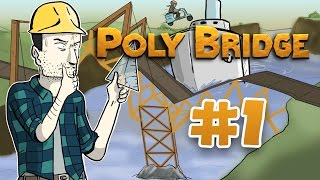 Sips Plays Poly Bridge (24/2/2017) - #1 - Triangles