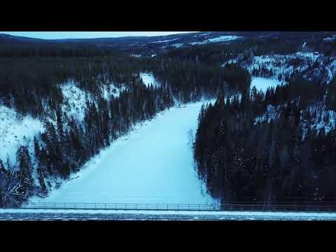 Tallbergsbroarna - Stambanan genom övre Norrland