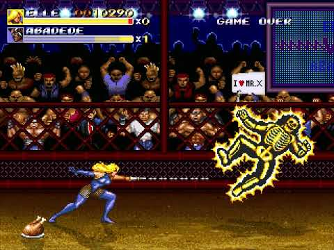 Streets of Rage Remake (Extra Mode: Boss Rush) (Bomber Games) (Windows) [2011] [PC Longplay]