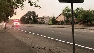 Cal fire convoy/Santa Rosa Fire