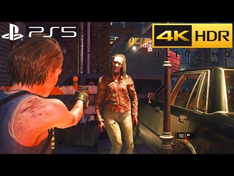 Resident Evil 3 Remake PS5 HDR Gameplay (4K 60FPS) pt.2