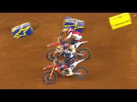 450SX & 250SX Main Event highlights - Arlington