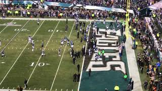 Eagles dance before NFC Championship