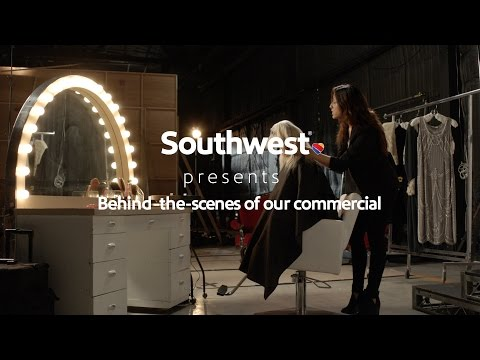 "Southwest Airlines ""Getting Styled"": Behind-the-Scenes of our Commercial"