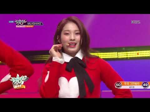 뮤직뱅크 Music Bank - MILKSHAKE - FLAVOR(플레이버).20190125