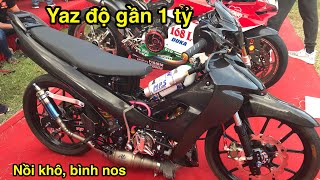 Test Pô Yaz Độ gần 1 Tỷ đồng đỉnh nhất Thế Giới tại Đại Hội Moto - CuongMotor