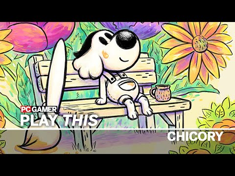 Play This: Chicory, a blank canvas for a vibrant painting adventure