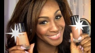 Skin in a Bottle: NEW MAC Mineralize Moisture spf 15 Foundation (Full Review) for WOC & Dry Skin