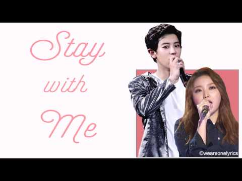Chanyeol & Punch - Stay With Me [Hangul, English and EASY Lyrics]