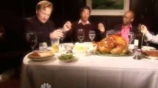 "Conan Travels - ""Jordan Schlansky's Thanksgiving Dinner"" - 11/26/09"