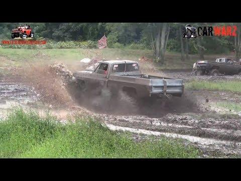 Old Black Chevy Mud Truck Mudding At Bentley Lake Road Mud Bog Fall 2018