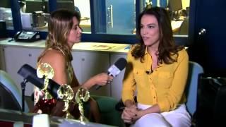 Confira como é o dia de gravação da jornalista Ana Paula Araújo