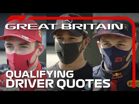 2020 British Grand Prix: Drivers React After Qualifying