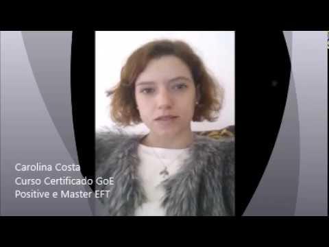 Carolina Costa - Curso Certificado GoE Positive e Master EFT