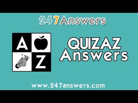 Quizaz A is For Answers Levels 1-50