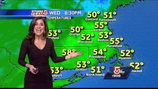 Cindy's latest Boston-area weather forecast