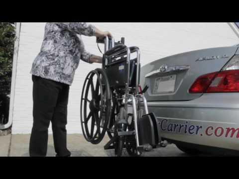 Steady Carriers   Wheelchair carrier