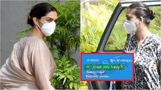 Bollywood actress Deepika Padukone allegedly accepts drug ..