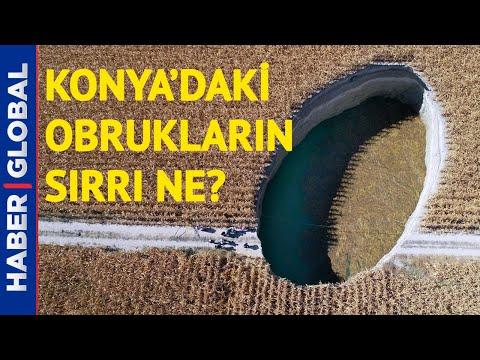 Korkutan Görüntüler! Konya'da Dev Obruklar Endişe Yaratıyor