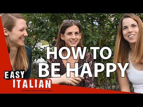 Are Italians a happy nation? | Easy Italian 20 photo