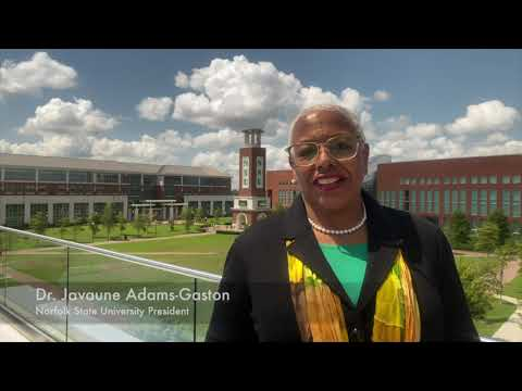 Norfolk State University Fall 2020 Welcome Message (Video)