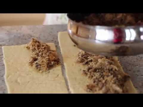 Paszteciki z kapustą i grzybami - przepis Golden Drop