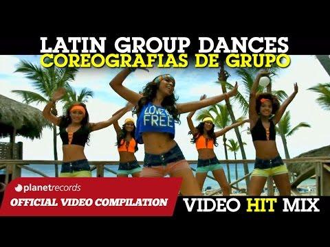 LATIN GROUP DANCE HITS ► BAILES DE GRUPO ► I MIGLIORI BALLI DI GRUPPO SALSA BACHATA ZUMBA REGGAETON