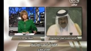 هنا العاصمة - قطر تطالب بتدخل عسكري عربي في سوريا