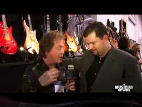 RICK DERRINGER Interview - TMNtv - @ Warrior Booth NAMM Show
