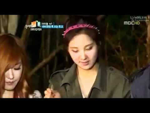 Seohyun feeds Changmin