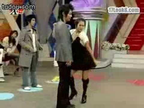 Chae Yeon's couple dance in X-Man