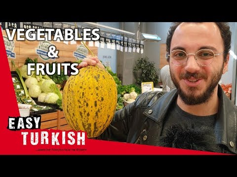 Fruits and vegetables in Turkish | Super Easy Turkish 2 photo