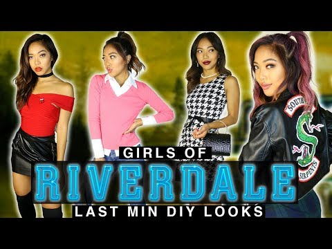 EASY RIVERDALE COSTUMES! Outfits Makeup & Hair Tutorial! | FASHION | Nava Rose