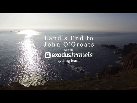 Land's End to John O'Groats with the Exodus Travels Cycling Team