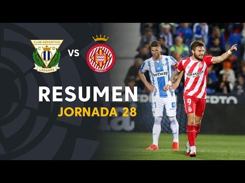 Vídeo  Resumen de CD Leganés vs Girona FC (0-2)  c14e892cccc19