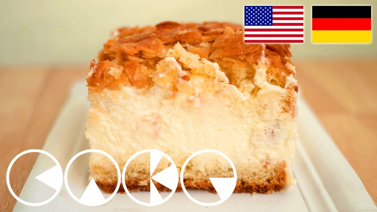 Cake Recipes In Otg Youtube: BIENENSTICH Rezept --- BEE STING CAKE Recipe