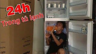 Thử Thách 24 Giờ Sống Trong Tủ Lạnh
