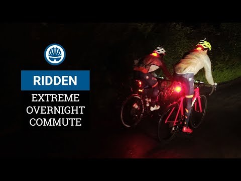 Joe & Reuben's 240km Overnight Extreme Commute (In The Rain)