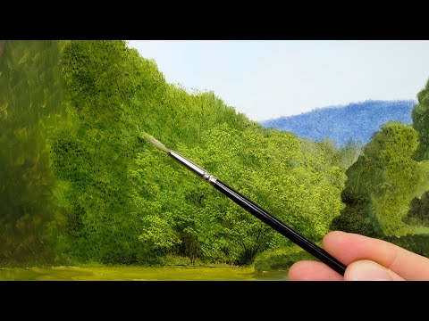 Paint Trees – The Three Step Process | Episode 190