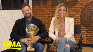 Kaitlyn Bristowe, Artem Chigvintsev react to 'Dancing With the Stars' win l GMA