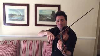 Philippe Quint Plays an Excerpt of Tchaikovsky's Violin Concerto